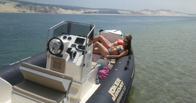 Boat rental Port d'Arcachon cheap Clubman 22