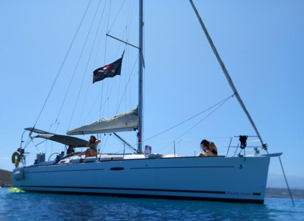 Boat rental Chania cheap Oceanis
