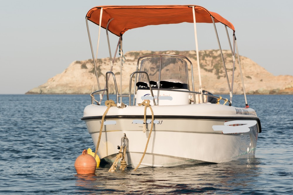 Rent a Poseidon 480cc Heraklion