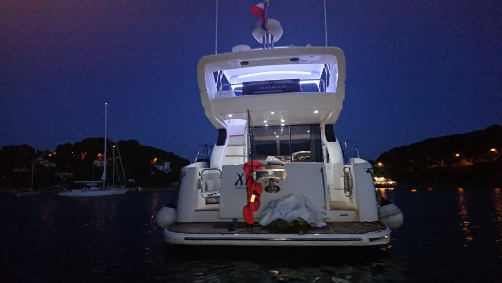 Boat rental Cap-d'Ail cheap Azimut 46 Fly