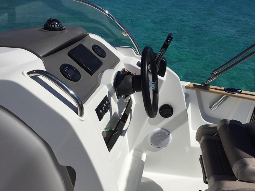 Jeanneau Cap Camarat 650 between personal and professional Ibiza