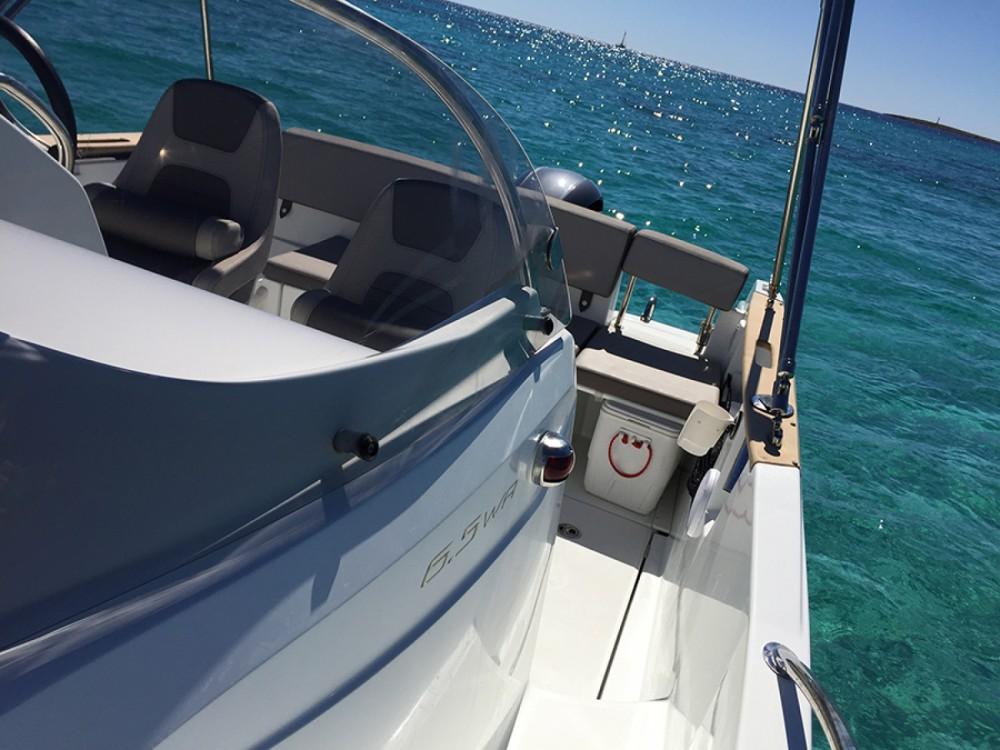 Rent a Jeanneau Cap Camarat 650 Ibiza