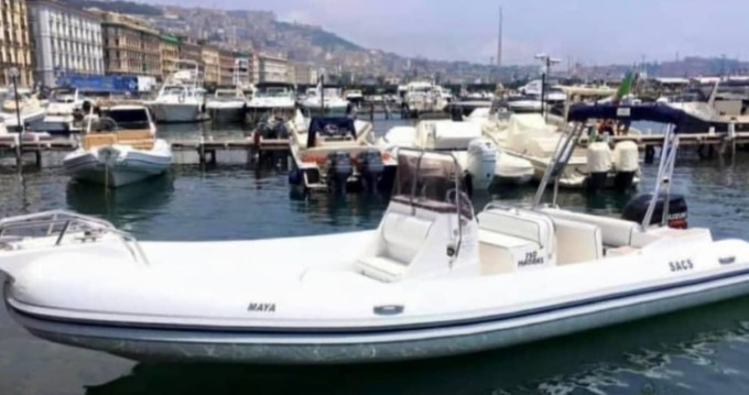 Rental RIB in Naples - Sacs Madras 7.50