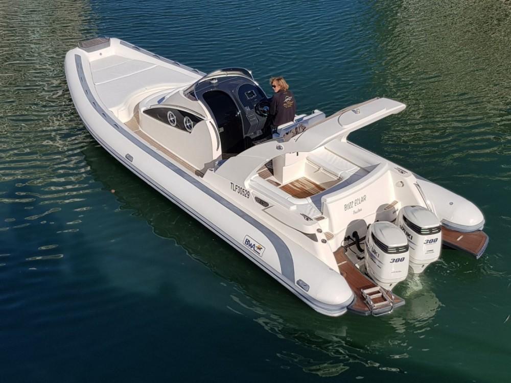Boat rental Fréjus cheap Bwa 34 Efb
