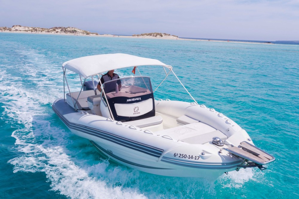 Boat rental Ibiza cheap NZ-O 760
