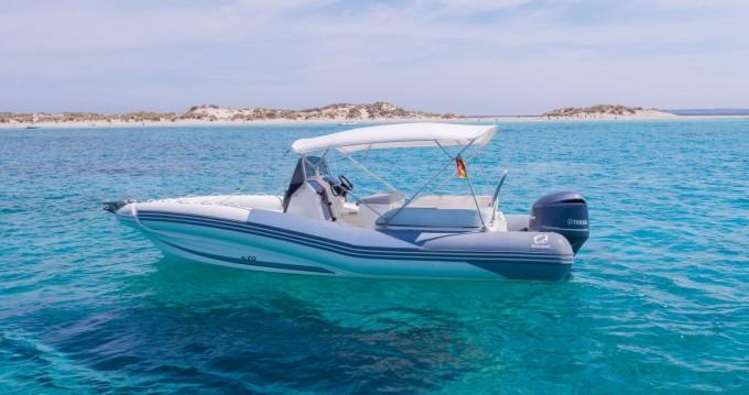Rental RIB in Ibiza Town - Zodiac NZ-O 760