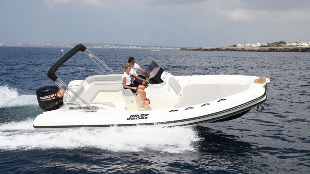 Joker Boat Clubman 24 between personal and professional Ibiza