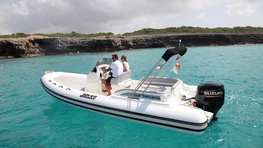 Rental RIB in Ibiza - Joker Boat Clubman 24