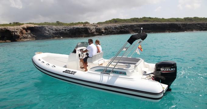 Joker Boat Clubman 24 between personal and professional Sant Antoni de Portmany