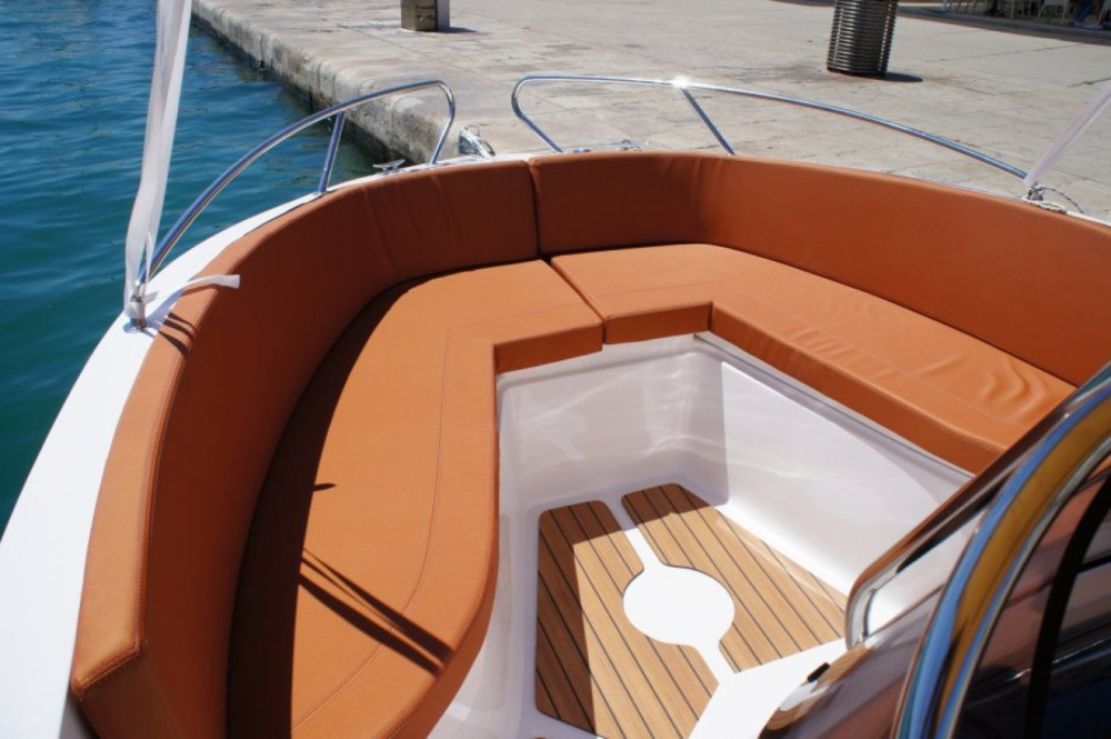 Okiboats Barracuda 545 Open between personal and professional Dubrovnik