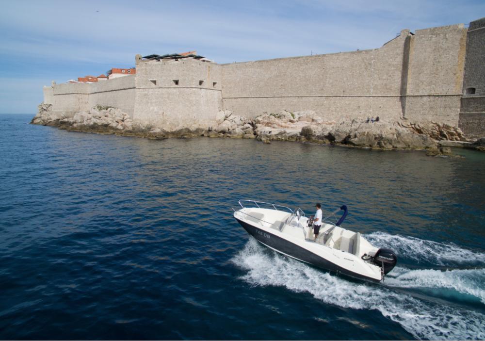 Boat rental Quicksilver Activ 675 Open in Dubrovnik on Samboat