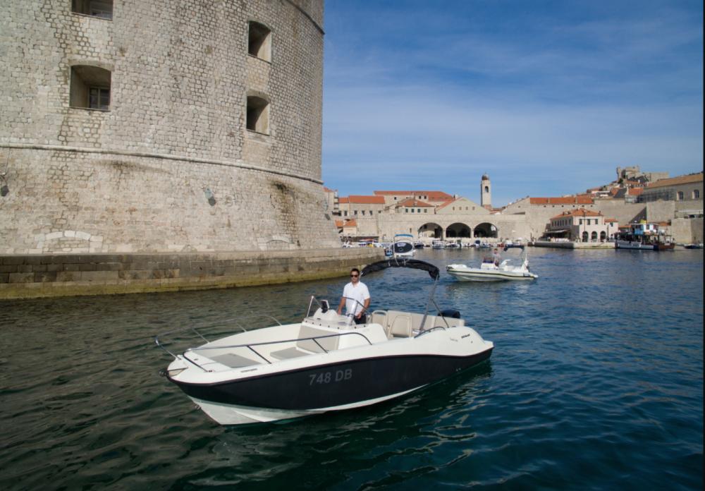 Rental yacht Dubrovnik - Quicksilver Activ 675 Open on SamBoat