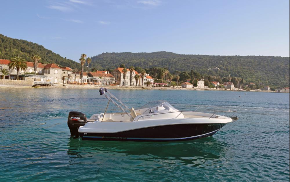 Rent a Jeanneau Cap Camarat 755 Dubrovnik