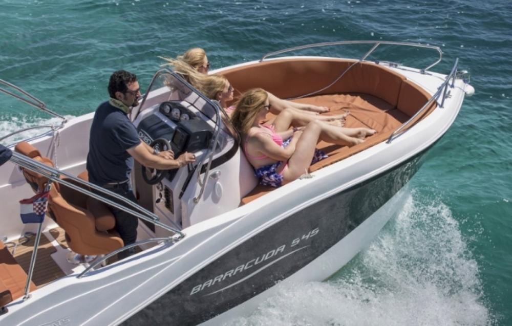 Boat rental Okiboats Barracuda 545 Open in  on Samboat