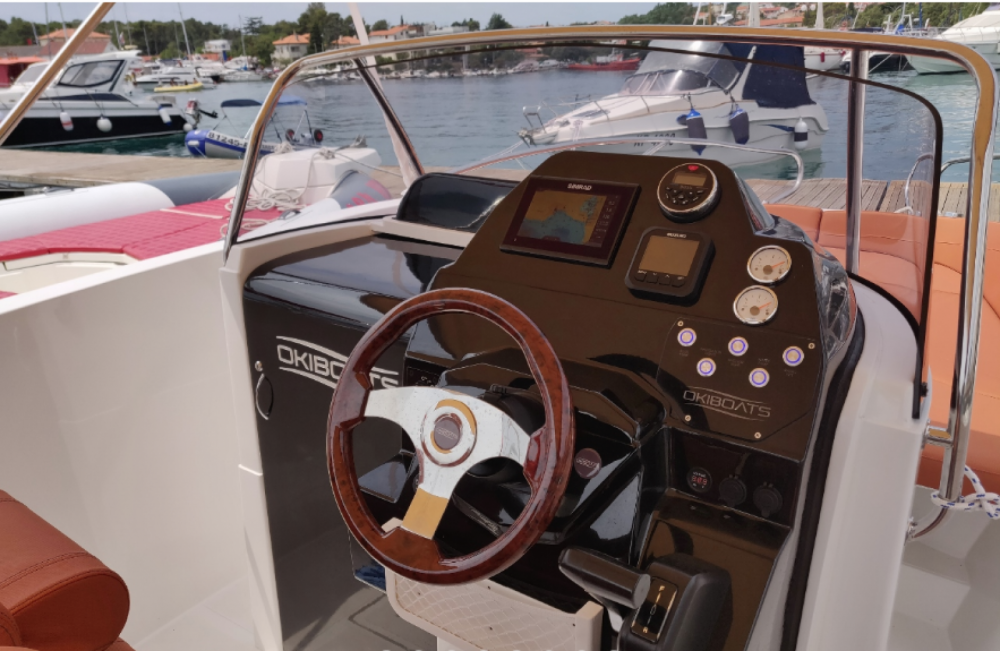 Okiboats Barracuda 686 WA between personal and professional