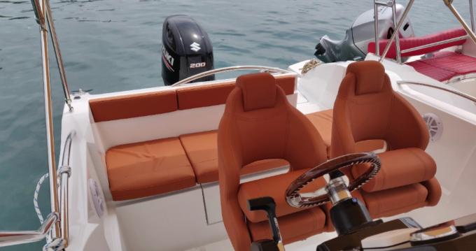 Boat rental Okiboats Barracuda 686 WA in Krk on Samboat
