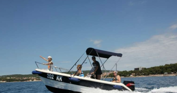Motorboat for rent Krk at the best price