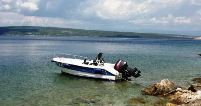Rental Motorboat in Krk - fisherman Speedy 450