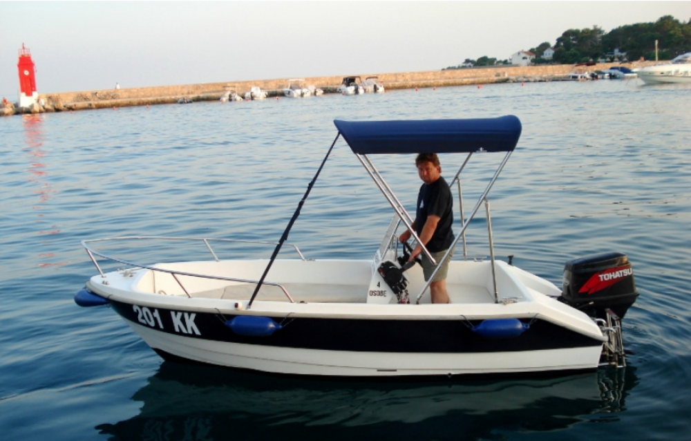 Hire Motorboat with or without skipper fisherman Krk