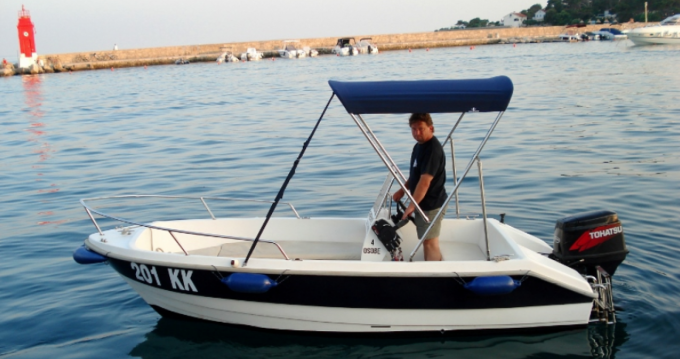 Rental Motorboat fisherman with a permit