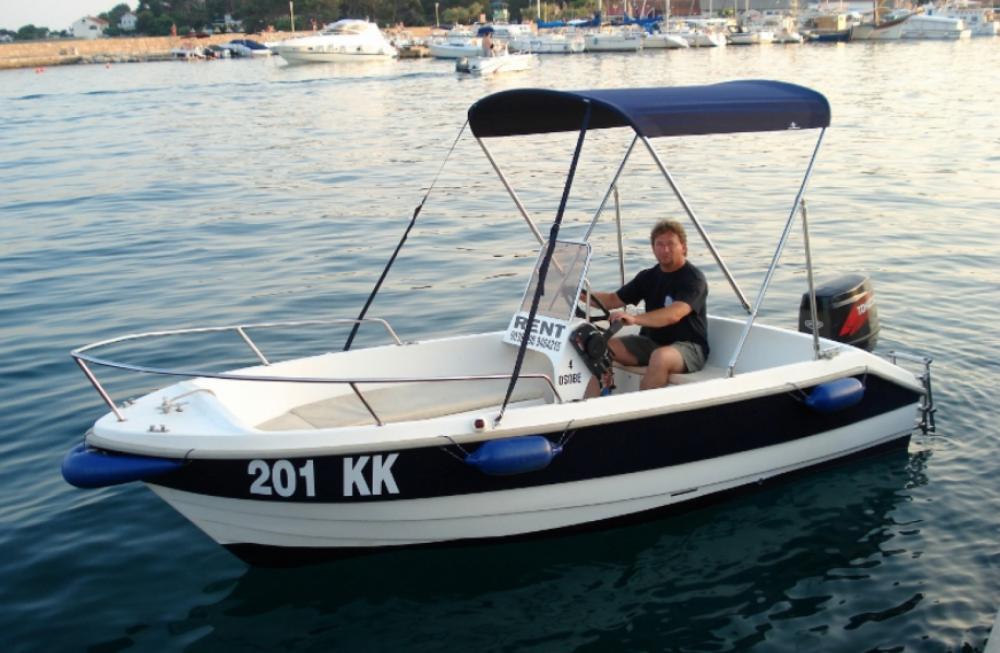 Rent a fisherman Speedy 450 Krk