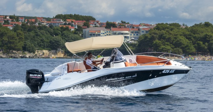 Hire Motorboat with or without skipper Okiboats Krk