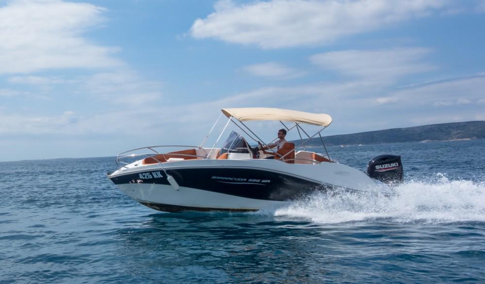 Rent a Okiboats Barracuda 686 WA