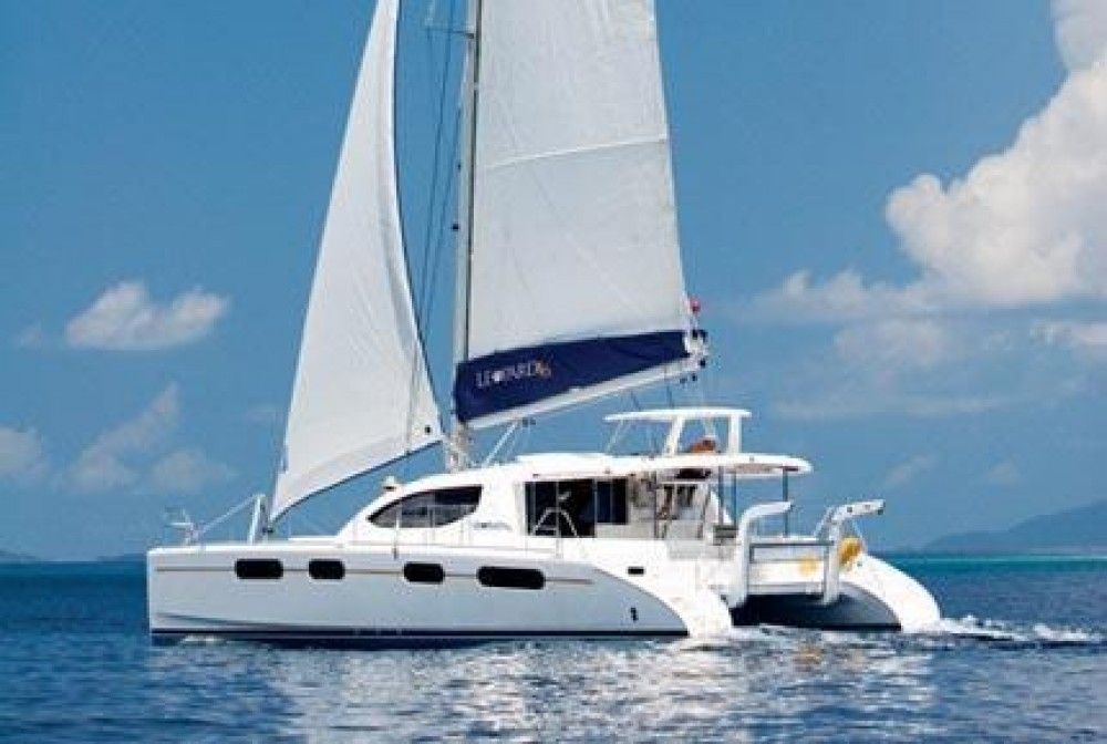 Robertson-Caine Leopard 46 between personal and professional Procida
