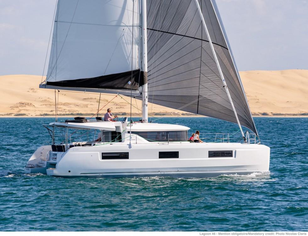 Rental yacht Tortola - Lagoon Lagoon 46 - 4 + 2 cab. on SamBoat