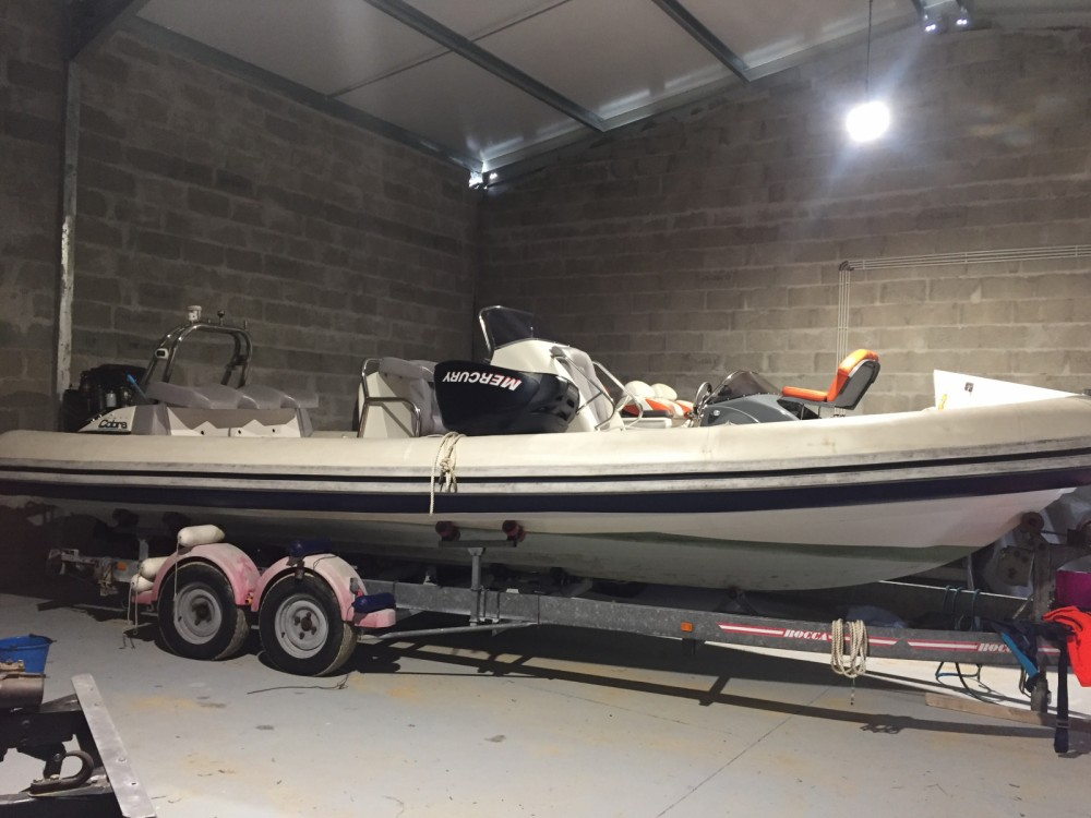 Hire RIB with or without skipper Cobra Lorient