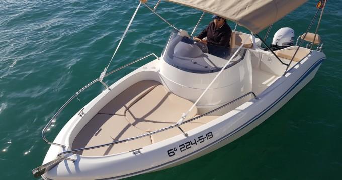 Rental Motorboat in Torrevieja - Remus Remus 550 open