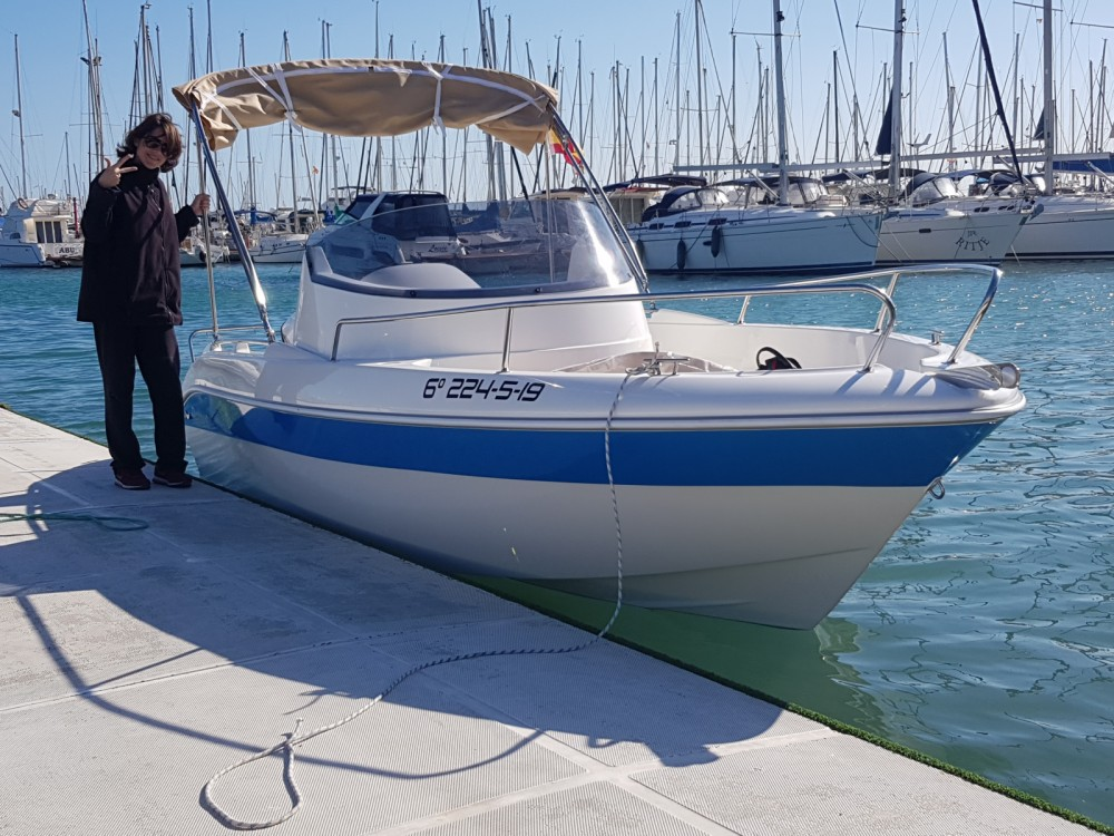 Boat rental Remus Remus 550 open in Torrevieja on Samboat