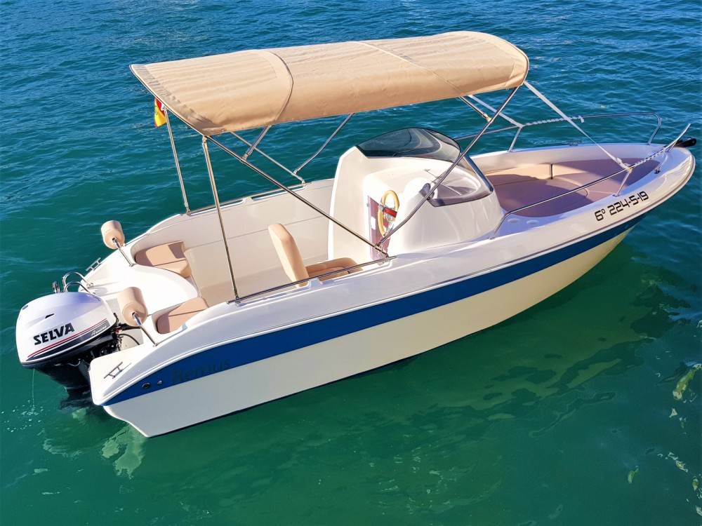 Hire Motor boat with or without skipper Remus Torrevieja