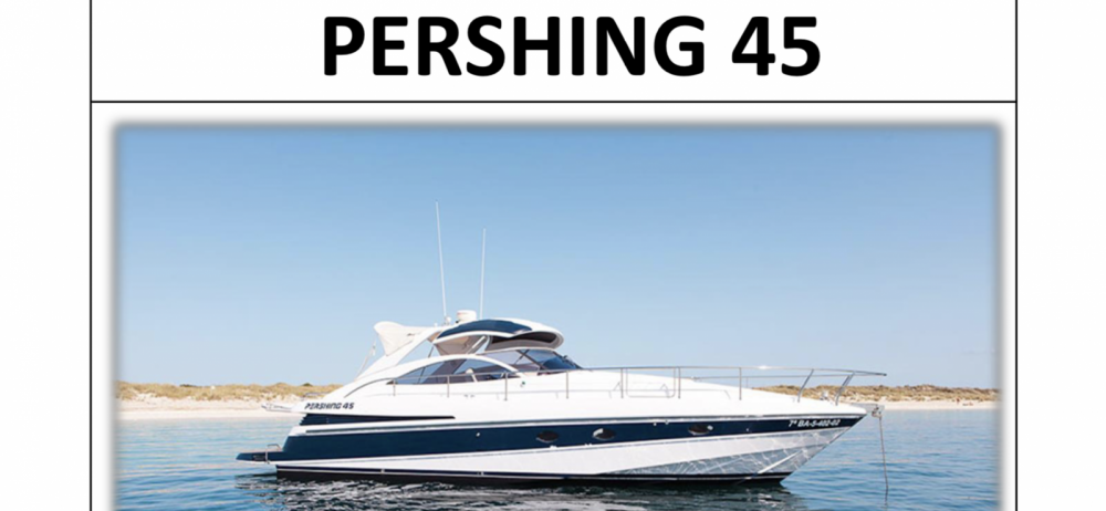 Hire Motorboat with or without skipper Pershing Ibiza
