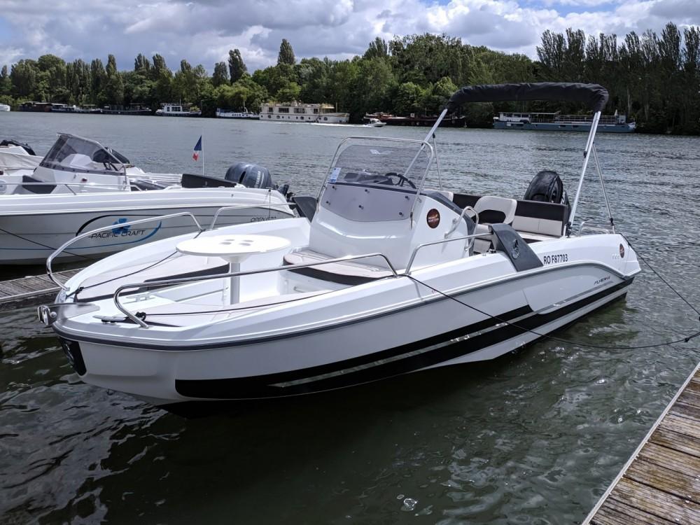 Rental Motorboat in Paris - Bénéteau Flyer 6.6 SPACEdeck