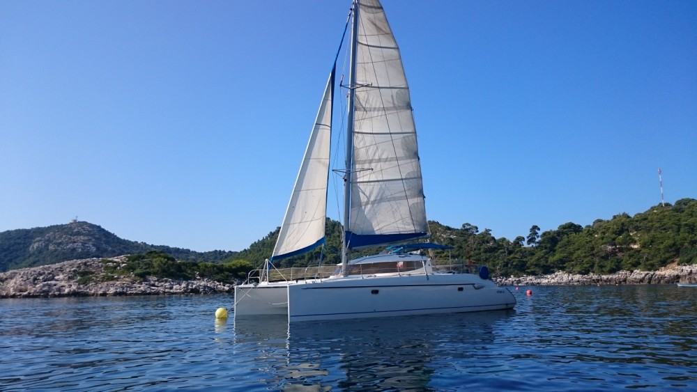 Fountaine Pajot Lavezzi 40 between personal and professional Alghero