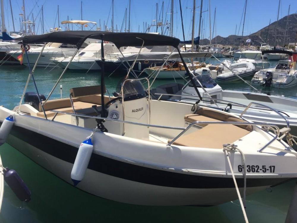 Boat rental Shiren  22 in Altea on Samboat