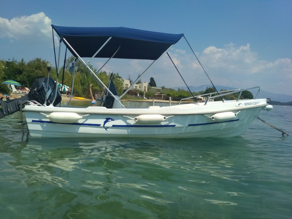 Motorboat for rent Peloponnese, Western Greece and the Ionian at the best price