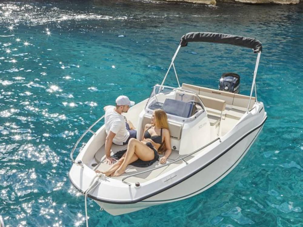 Boat rental Trogir cheap Activ 505
