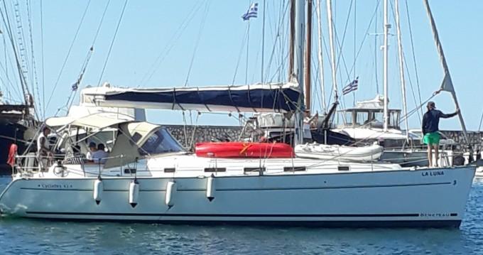Rental Sailboat in Piraeus - Bénéteau Cyclades 434