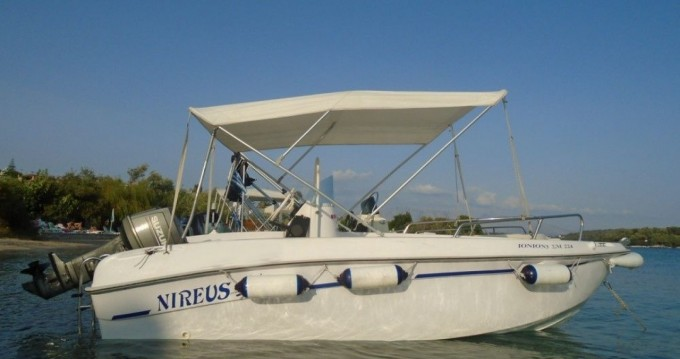Hire Motorboat with or without skipper NIREFS Perigiali