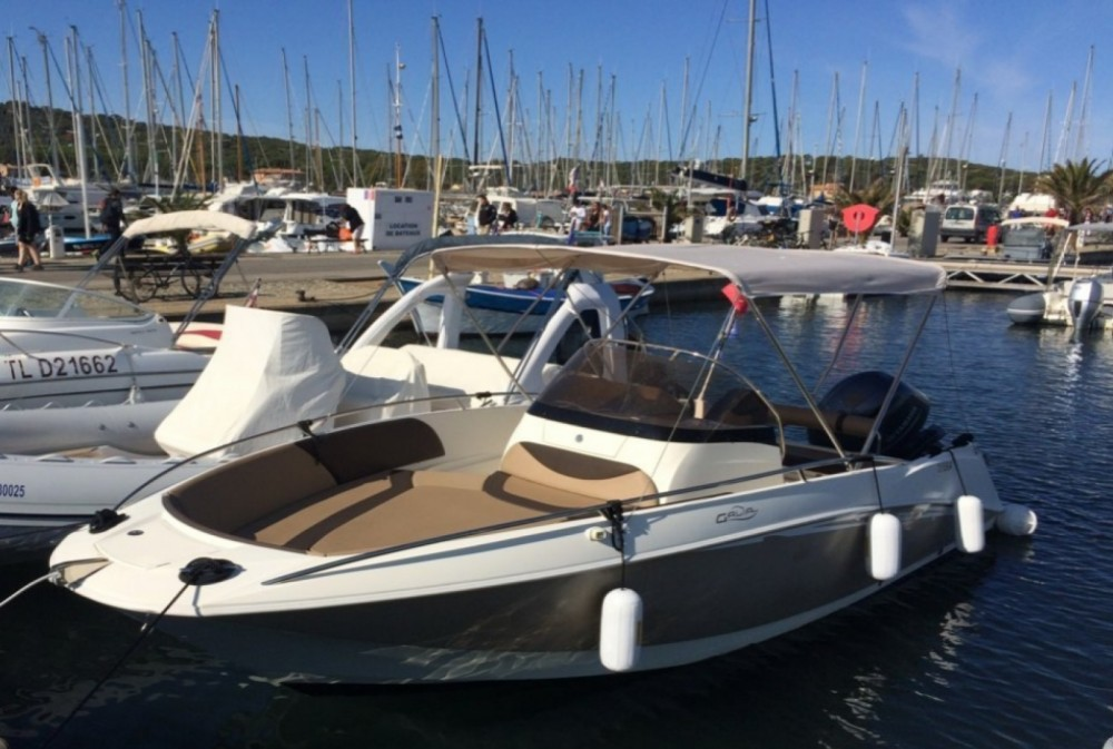 Boat rental Nice cheap Galia 630 Open