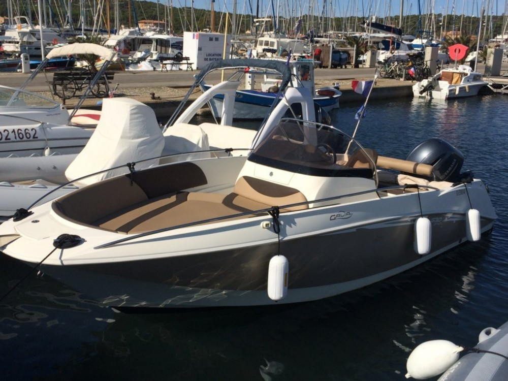 Rental Motorboat in Nice - Galeon Galia 630 Open