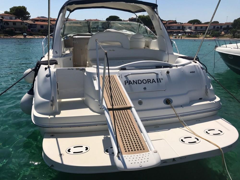 Boat rental Sea Ray Sea Ray 455 Sundancer in Porto San Paolo on Samboat
