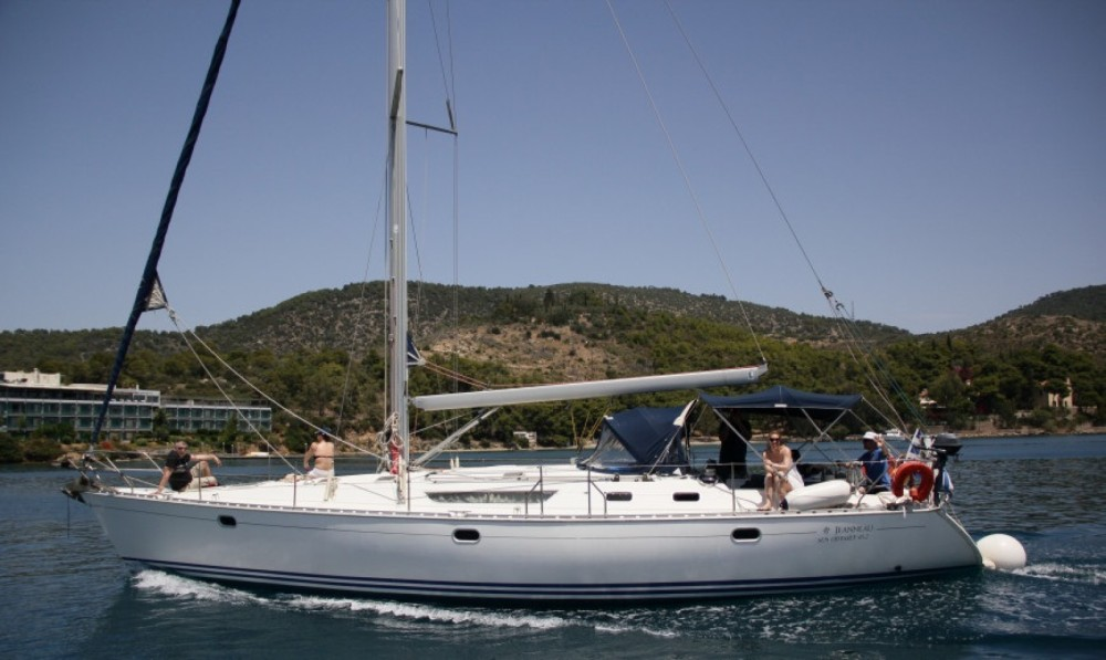 Jeanneau Sun Odyssey 45.2 between personal and professional Msida
