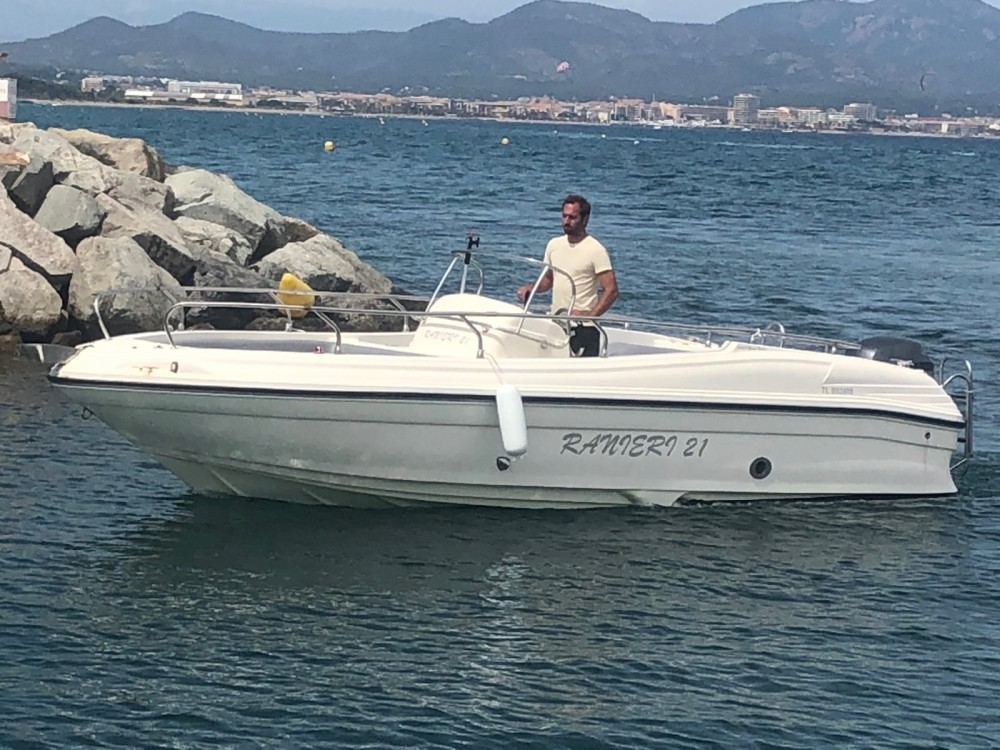 Hire Motorboat with or without skipper Ranieri Fréjus