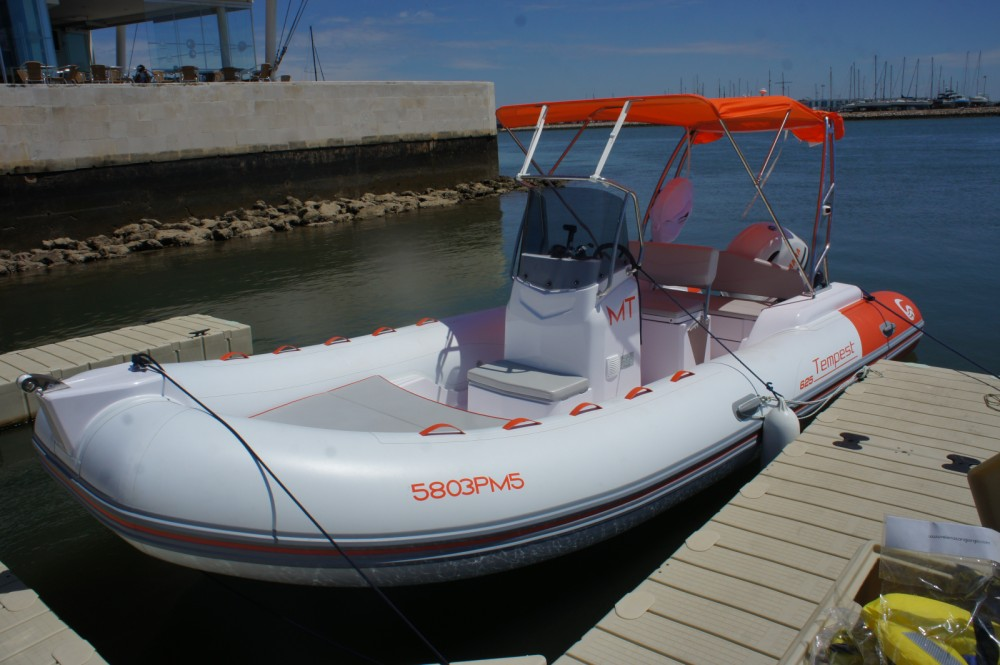 Hire RIB with or without skipper Capelli Algarve