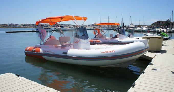 Rental yacht Portimão - Capelli Tempest 625 on SamBoat