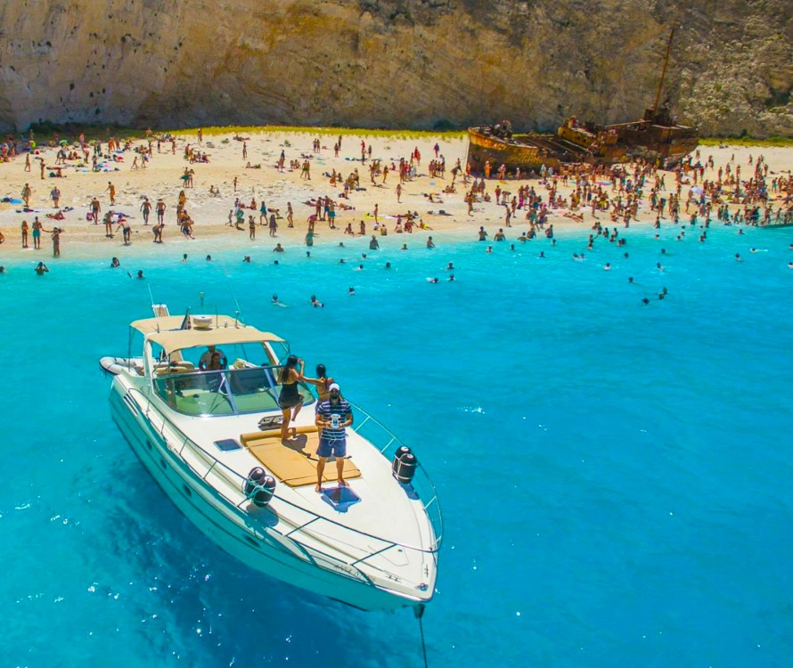 Cranchi Mediterranee 41 between personal and professional Zakynthos
