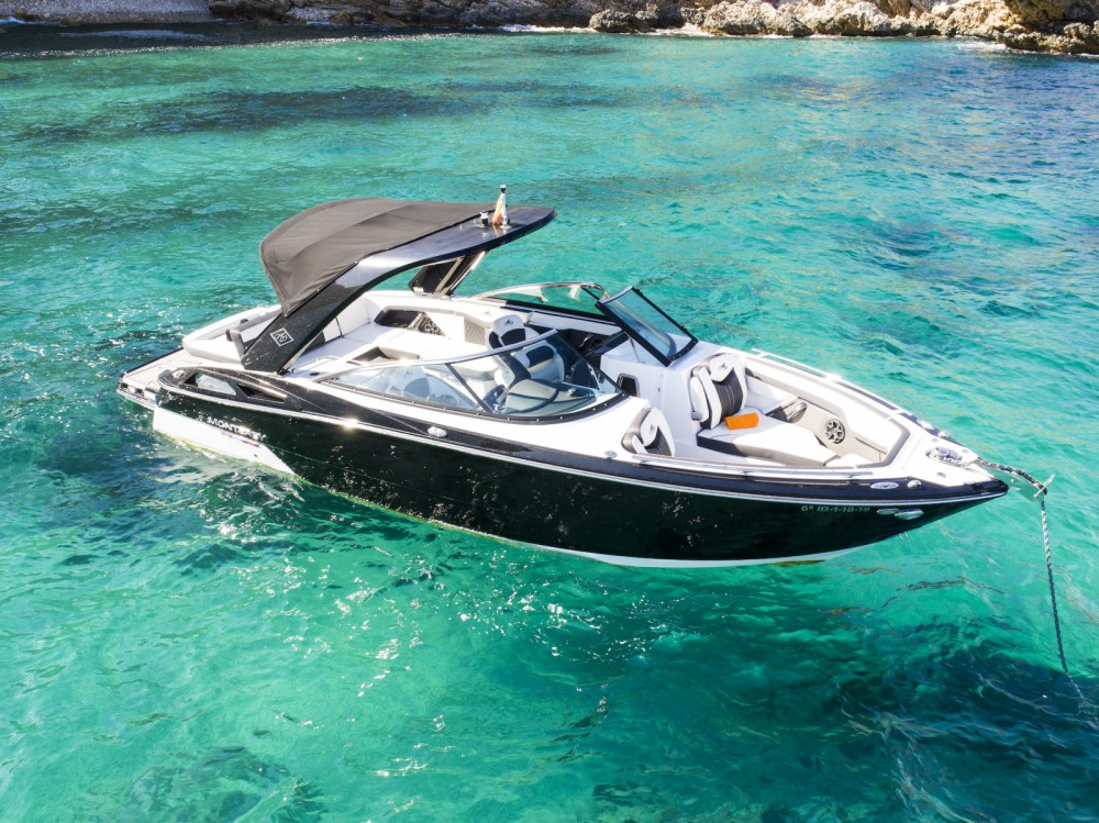 Rental Motorboat in Ibiza - Monterey 278 ss